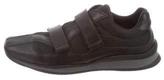 Prada Sport Square-Toe Low-Top Sneakers