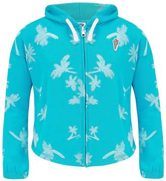 Animal Girls Blue Full Zip Hoodie