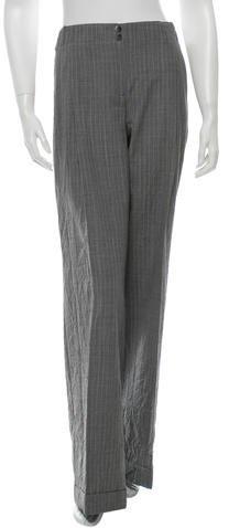 Michael Kors Striped Wide-Leg Pants w/ Tags