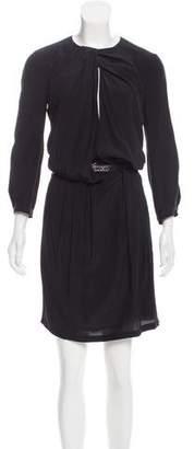 Gucci Silk Belted Dress
