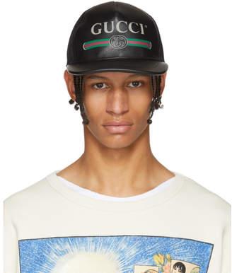 Gucci Black Logo Cap