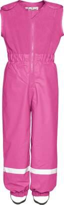Playshoes Unisex Baby and Kids' Rain Pants With Fleece Top