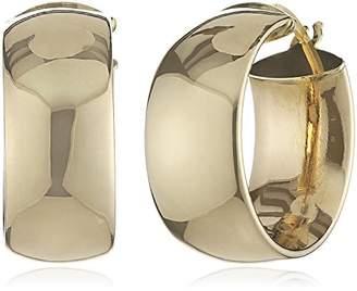 Celesta 242310071 9ct Yellow Gold Creole Earrings