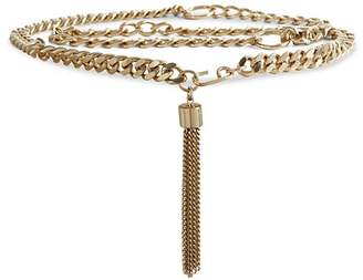 Reiss Cleo Tassel Chain Belt
