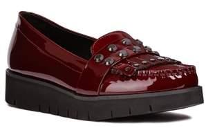 Geox Blenda Studded Kiltie Loafer