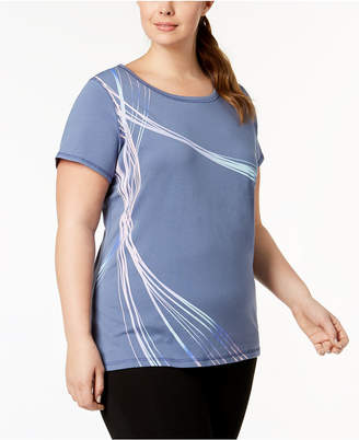 Macy's Ideology Plus Size Graphic T-Shirt, Created for