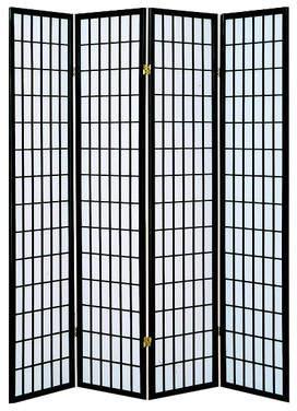 World Menagerie Vavra 4 Panel Room Divider
