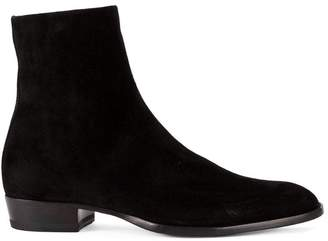 Saint Laurent zipped ankle boots