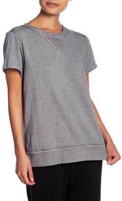 Josie Hi-Lo Short Sleeve Sweatshirt