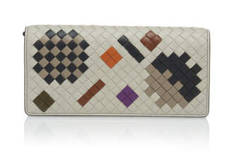 Bottega Veneta Chain Strap Artsy Leather Wallet