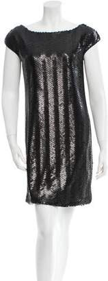 Rachel Zoe Sequined Mini Dress