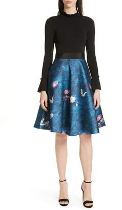 Ted Baker Kalinaa Wonderland Fit & Flare Dress