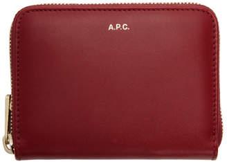 A.P.C. (アー ペー セー) - A.P.C. レッド Maria コンパクト ウォレット
