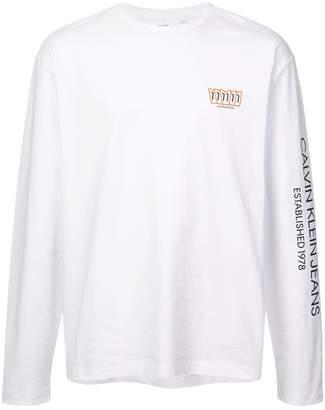 Calvin Klein Jeans Est. 1978 logo print top
