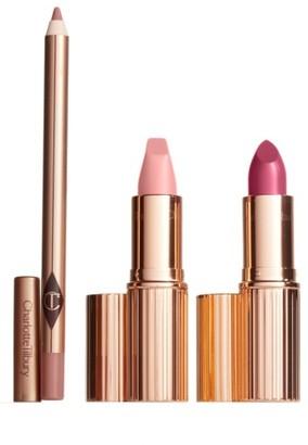 Charlotte Tilbury Hot Lips Lipstick Set - Perfect Pink $60 thestylecure.com