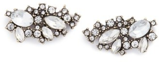 Women's Baublebar Crystal Cluster Stud Earrings $32 thestylecure.com