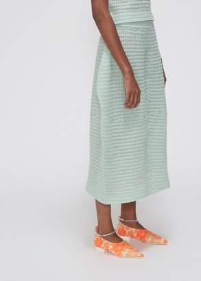 Jil Sander High Waist Knit Skirt