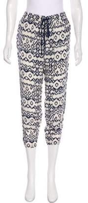 Brochu Walker Mid-Rise Silk Pants