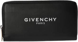 Givenchy Logo Zip-around Wallet