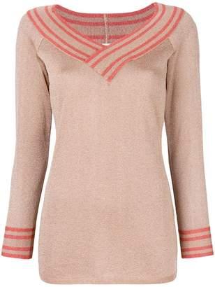 Charlott メタリック セーター