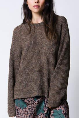 Laurèl Wanderlux twist-back sweater