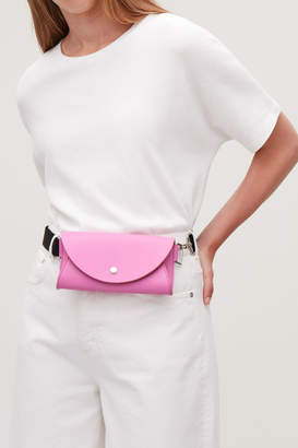 Cos GROSGRAIN-LEATHER BELT BAG