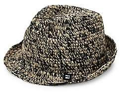 Block Headwear Men's Rocky Raffia Fedora