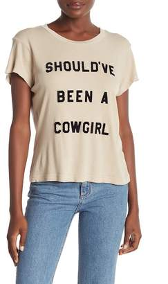 Wildfox Couture Cowgirl No.9 Graphic Tee