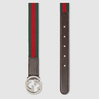 Gucci Children's Web belt