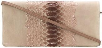 Maison Margiela Pre-Owned snake effect clutch bag
