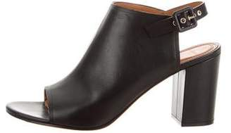 Givenchy Leather Ankle Strap Booties