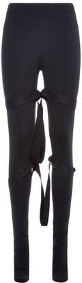 Burberry Strap Detail Leggings