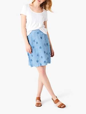 4588eeb6a79f White Stuff Mini Roller Linen Skirt