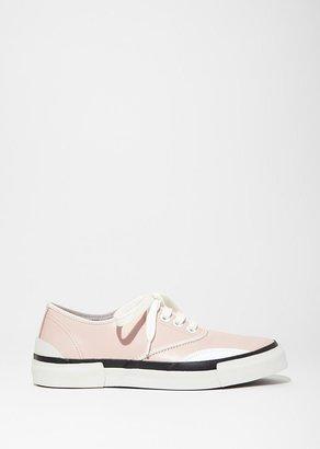 Julien David Lace Up Sneaker $418 thestylecure.com