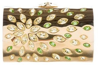 Judith Leiber Crystal-Embellished Minaudière $595 thestylecure.com
