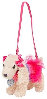 Confetti Rainbow Sequin & Tutu Faux Fur Sadie Cocker Spaniel Poochie Purse