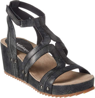 Antelope 528 Leather Wedge Sandal