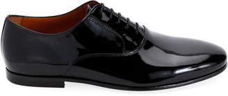Lanvin Men's Patent Leather Oxford Shoes