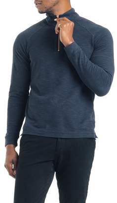Good Man Brand Quarter Zip Mock Neck Pullover