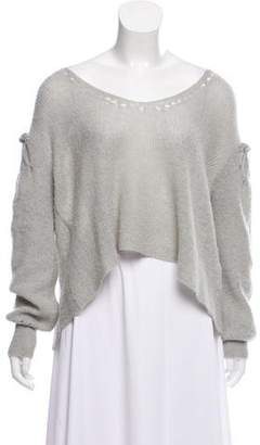 Wildfox Couture Scoop Neck Sweater