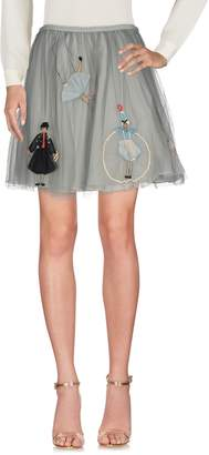 RED Valentino Knee length skirts