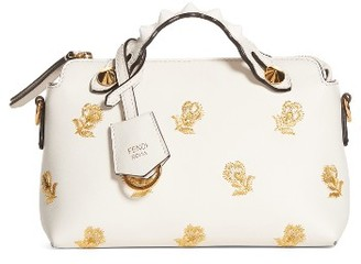 Fendi Mini By The Way Convertible Leather Crossbody Bag - White $2,050 thestylecure.com