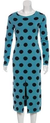 Natasha Zinko Polka Dot Knit Dress w/ Tags