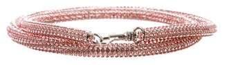 Christopher Kane Crystal-Embellished Wasit Belt