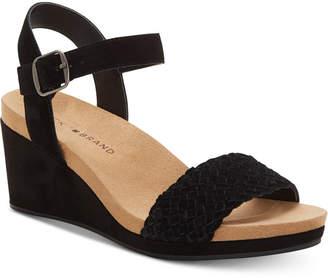 Lucky Brand Women Kenette Wedge Sandals Women Shoes