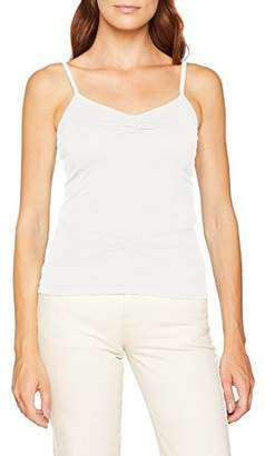 People Tree Peopletree Women's Jemma Camisole Top Vest (Eco White)