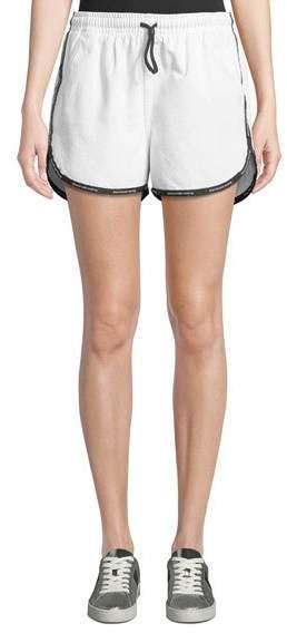 Logo-Trim Track Shorts