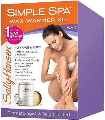 Sally Hansen Simple Spa Wax Warmer Kit