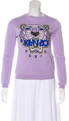 Kenzo Long Sleeve Crew Neck Sweater