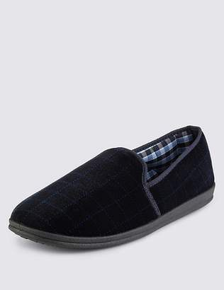 Marks and Spencer Big & Tall Slippers with ThinsulateTM